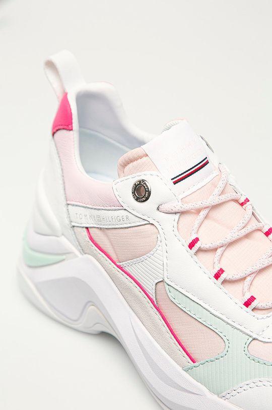 pastelově růžová Tommy Hilfiger - Boty