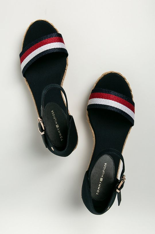 tmavomodrá Tommy Hilfiger - Sandále