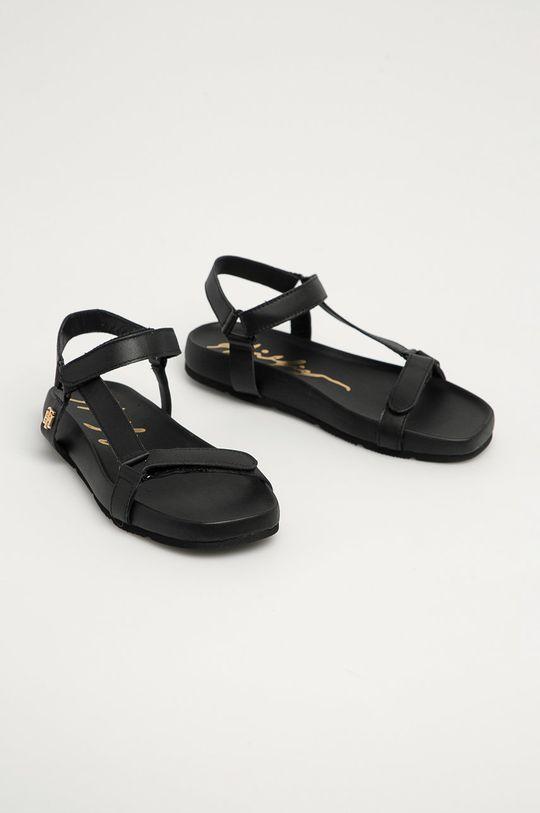 Tommy Hilfiger - Sandály černá