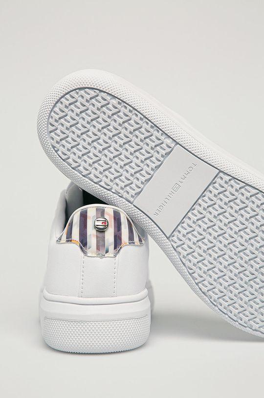 Tommy Hilfiger - Kožená obuv  Zvršok: Prírodná koža Vnútro: Syntetická látka, Textil Podrážka: Syntetická látka