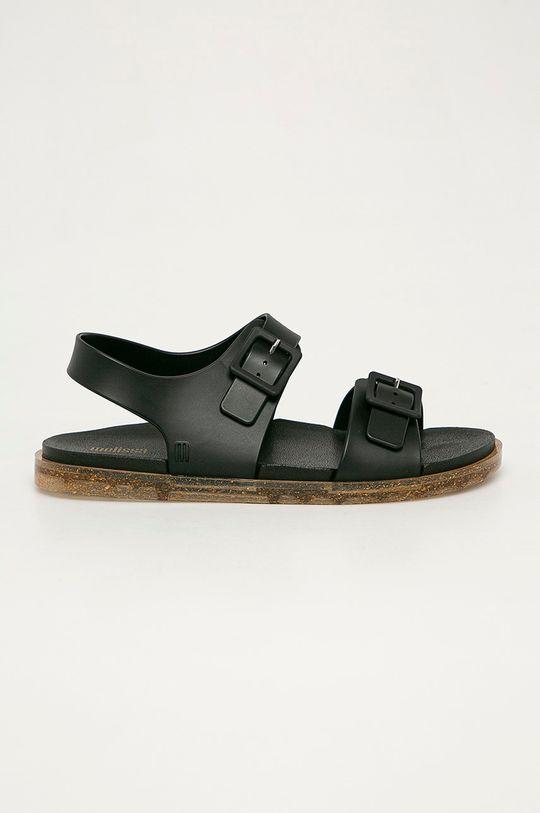 čierna Melissa - Sandále Wide Dámsky