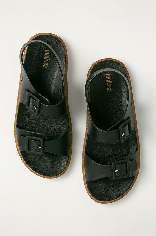 Melissa - Sandále Wide čierna