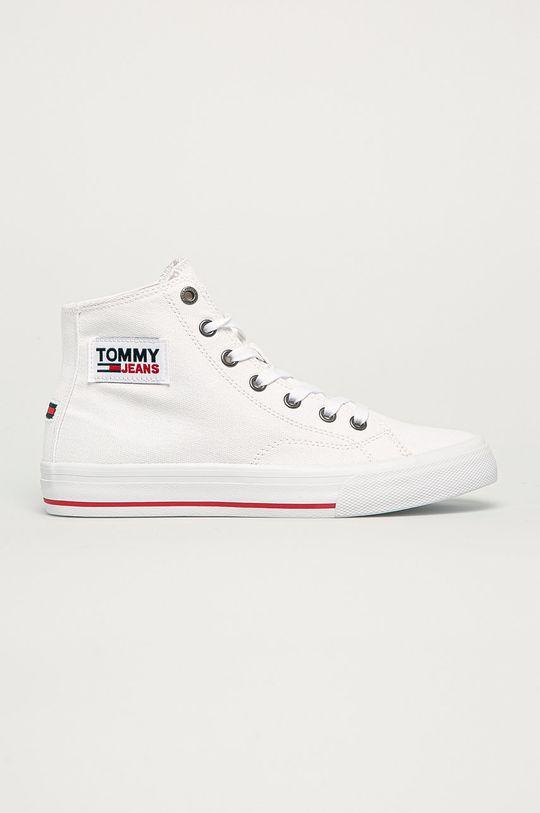 alb Tommy Jeans - Tenisi De femei
