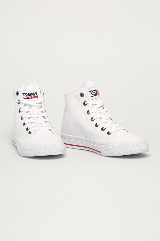 Tommy Jeans - Tenisi alb