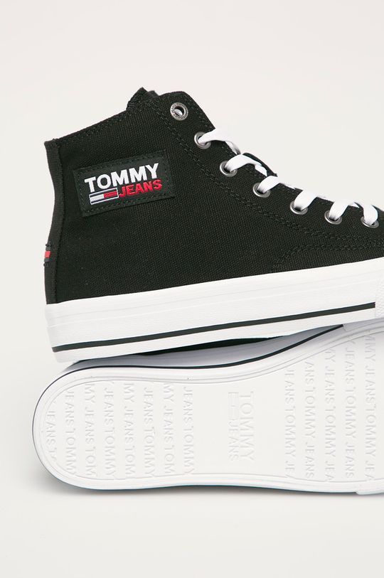 čierna Tommy Jeans - Tenisky