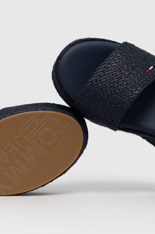 tmavomodrá Tommy Jeans - Sandále