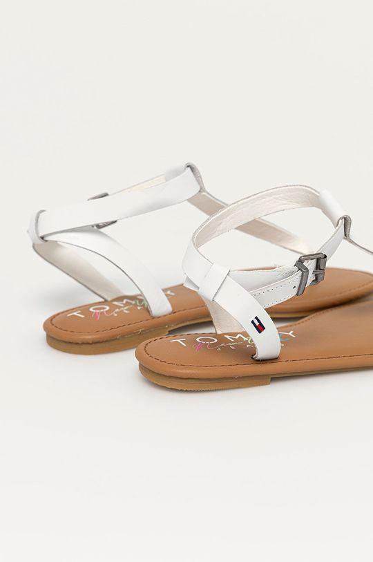 Tommy Jeans - Kožené sandály  Svršek: Přírodní kůže Vnitřek: Textilní materiál, Přírodní kůže Podrážka: Umělá hmota