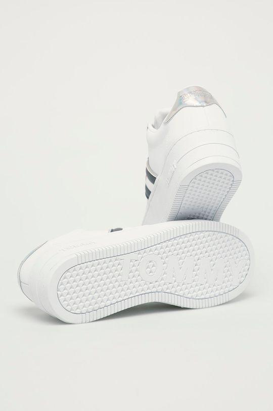 Tommy Jeans - Boty  Svršek: Textilní materiál, Přírodní kůže Vnitřek: Umělá hmota, Textilní materiál Podrážka: Umělá hmota
