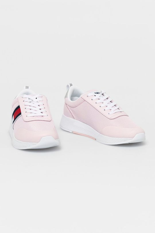 Tommy Jeans - Topánky pastelová ružová