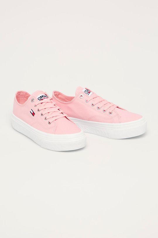 Tommy Jeans - Tenisky růžová
