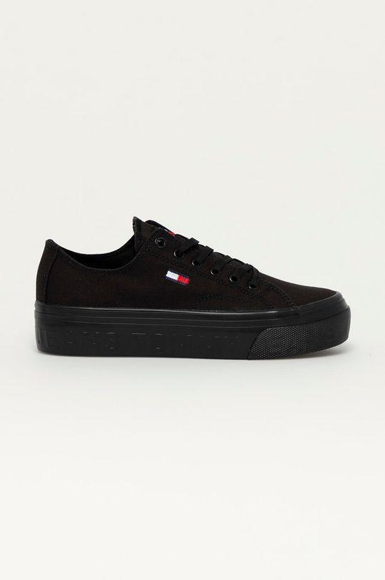 čierna Tommy Jeans - Tenisky Dámsky