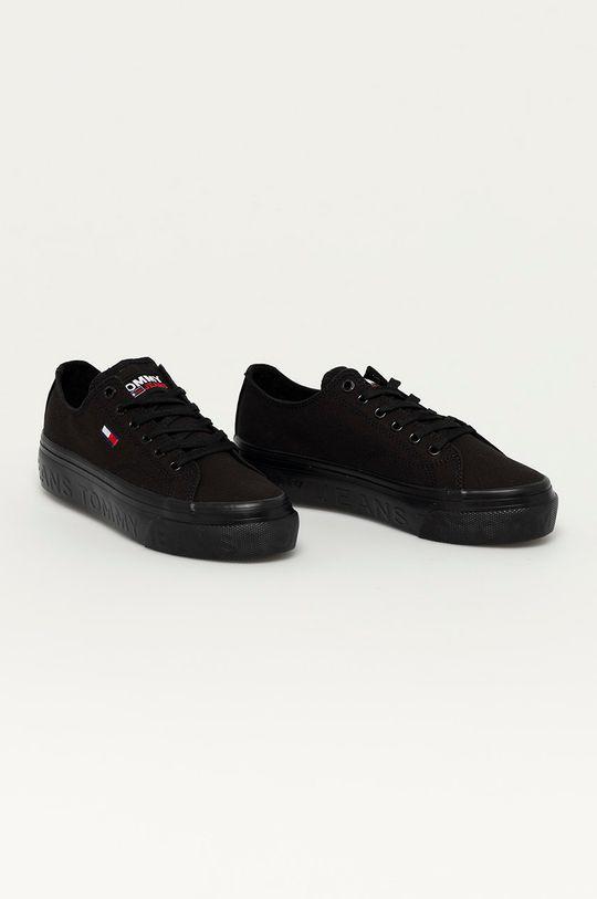 Tommy Jeans - Tenisky čierna