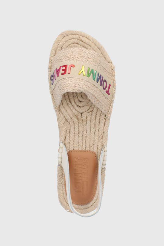 béžová Tommy Jeans - Sandály