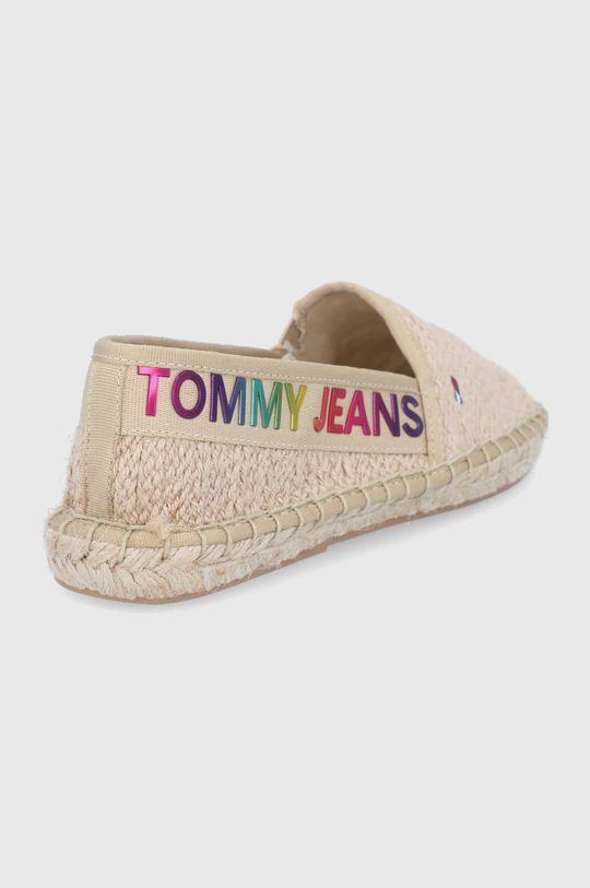 Tommy Jeans - Espadryle Cholewka: Materiał tekstylny, Wnętrze: Materiał syntetyczny, Materiał tekstylny, Podeszwa: Materiał syntetyczny