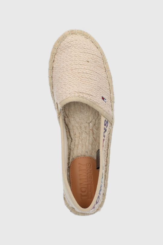 beżowy Tommy Jeans - Espadryle