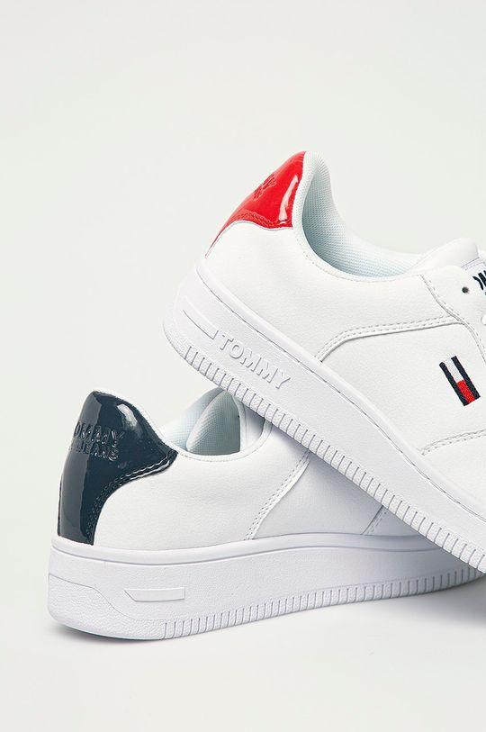 Tommy Jeans - Kožené boty  Svršek: Přírodní kůže Vnitřek: Textilní materiál Podrážka: Umělá hmota