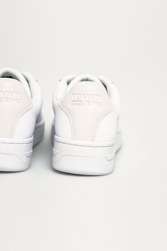 Tommy Jeans - Ghete de piele  Gamba: Acoperit cu piele Interiorul: Material textil Talpa: Material sintetic