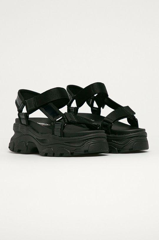 Tommy Jeans - Sandále čierna