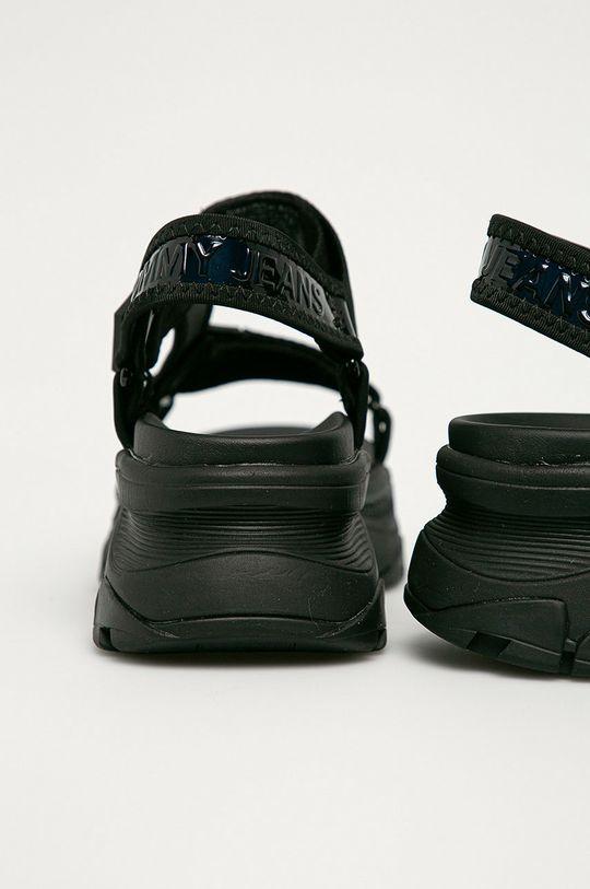 Tommy Jeans - Sandále  Zvršok: Syntetická látka, Textil Vnútro: Textil Podrážka: Syntetická látka