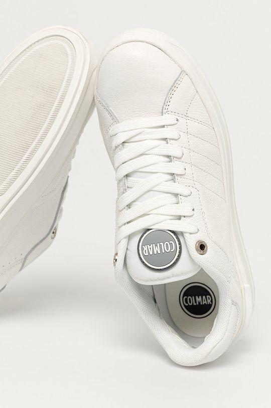 biały Colmar - Buty skórzane