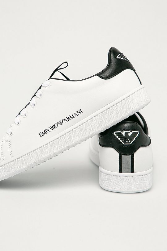 Emporio Armani - Kožené boty  Svršek: Přírodní kůže Vnitřek: Umělá hmota, Textilní materiál Podrážka: Umělá hmota