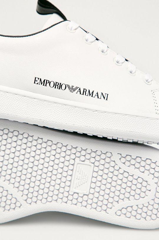 Emporio Armani - Kožené boty Dámský