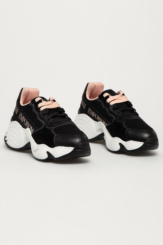 Emporio Armani - Pantofi negru