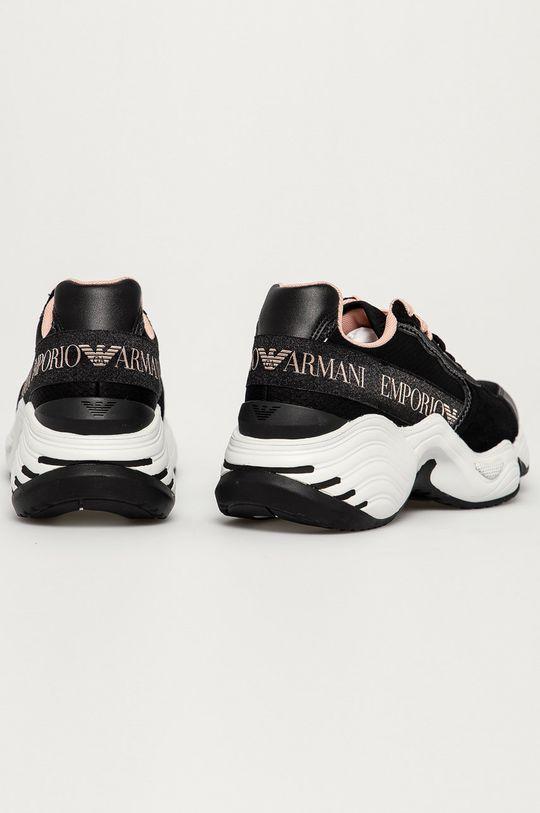 Emporio Armani - Pantofi  Gamba: Material sintetic, Material textil, Piele intoarsa Interiorul: Material textil Talpa: Material sintetic