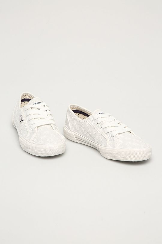Pepe Jeans - Tenisky Aberlady Lace bílá