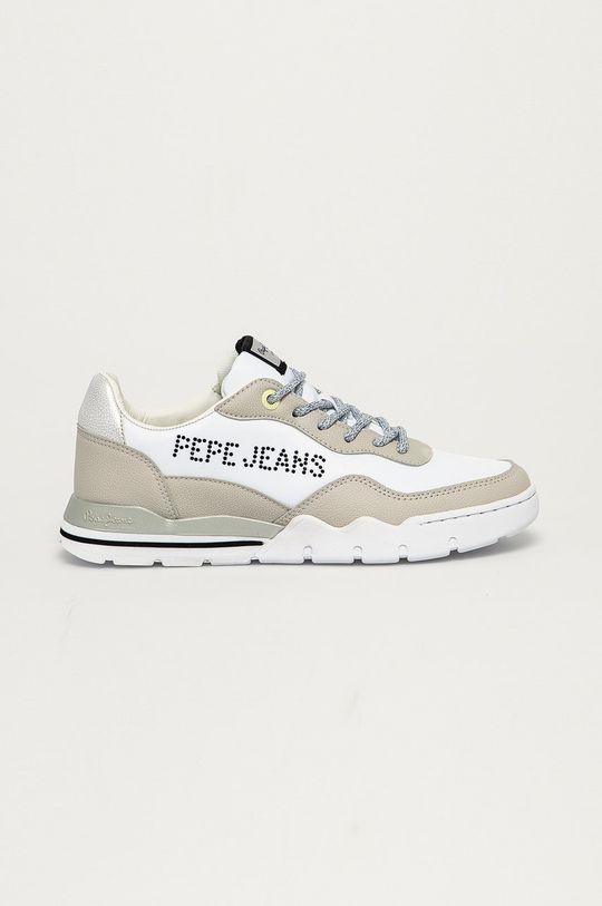 biela Pepe Jeans - Topánky Siena Bass Dámsky