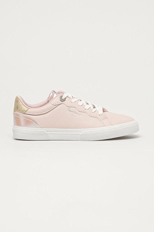 pastelově růžová Pepe Jeans - Boty Kenton Supra Dámský