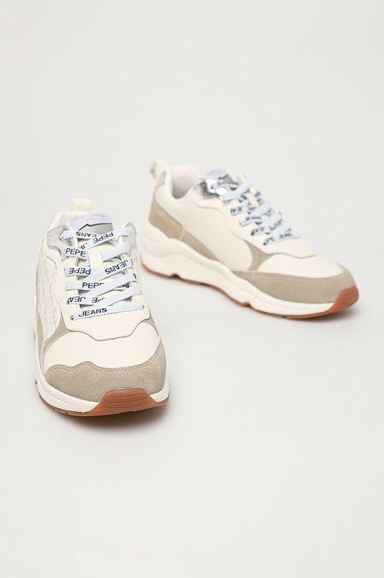 Pepe Jeans - Pantofi Harlow Soft alb