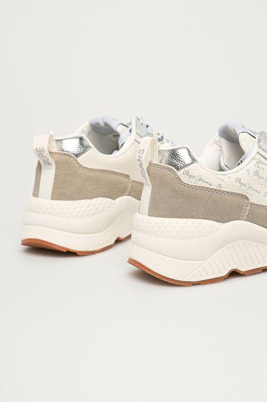 Pepe Jeans - Pantofi Harlow Soft  Gamba: Material sintetic, Material textil, Piele naturala Interiorul: Material sintetic, Material textil Talpa: Material sintetic
