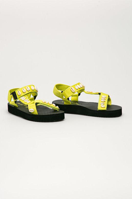 Pepe Jeans - Sandály Pool W Sea žlutá