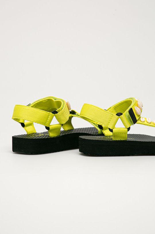 Pepe Jeans - Sandály Pool W Sea  Svršek: Textilní materiál Vnitřek: Umělá hmota, Textilní materiál Podrážka: Umělá hmota