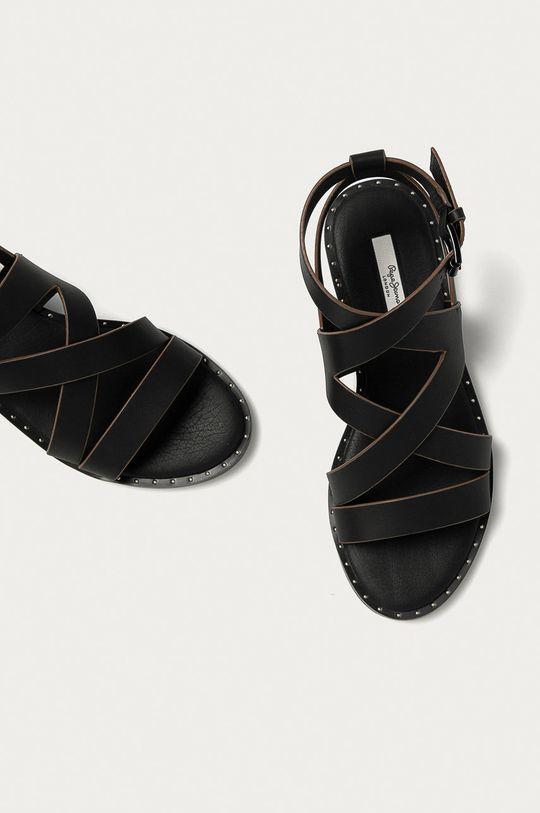 ciemny brązowy Pepe Jeans - Sandały Hayes Road