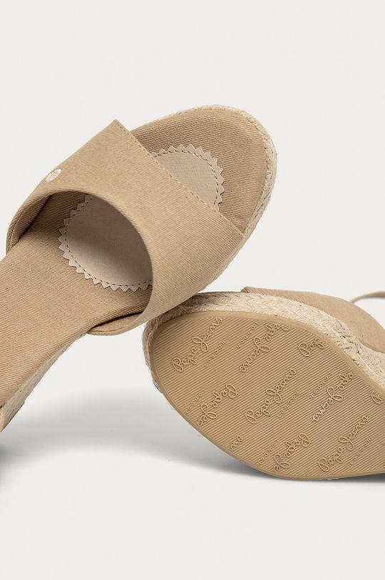 piesková Pepe Jeans - Sandále Maida