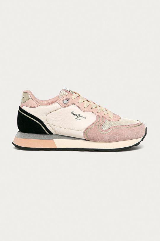 culoarea tenului Pepe Jeans - Pantofi Dover Bass De femei