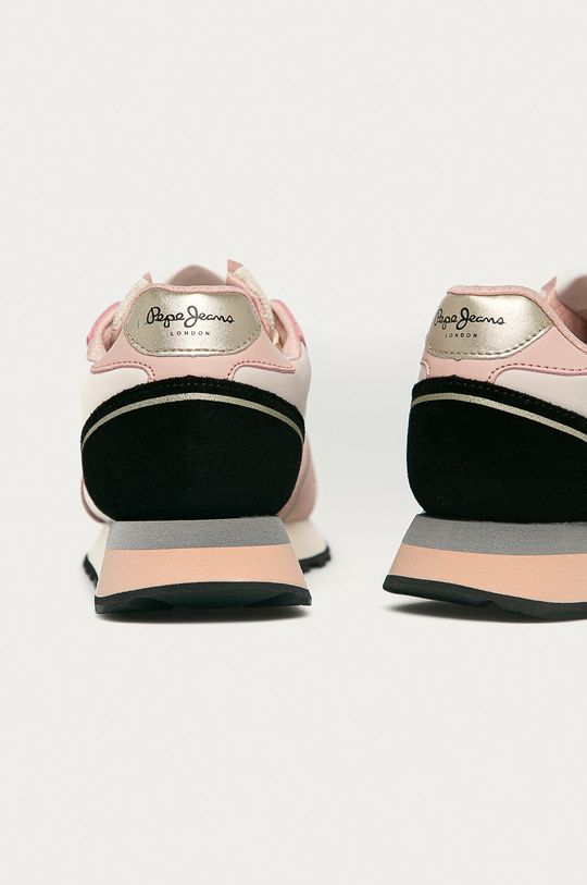 Pepe Jeans - Pantofi Dover Bass  Gamba: Material textil, Piele naturala Interiorul: Material textil Talpa: Material sintetic