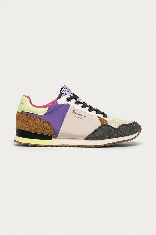 violet Pepe Jeans - Pantofi Archie Fun De femei