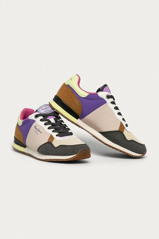 Pepe Jeans - Pantofi Archie Fun violet