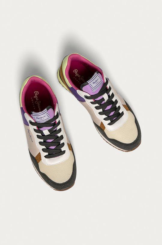 Pepe Jeans - Pantofi Archie Fun  Gamba: Material sintetic, Material textil Interiorul: Material textil Talpa: Material sintetic