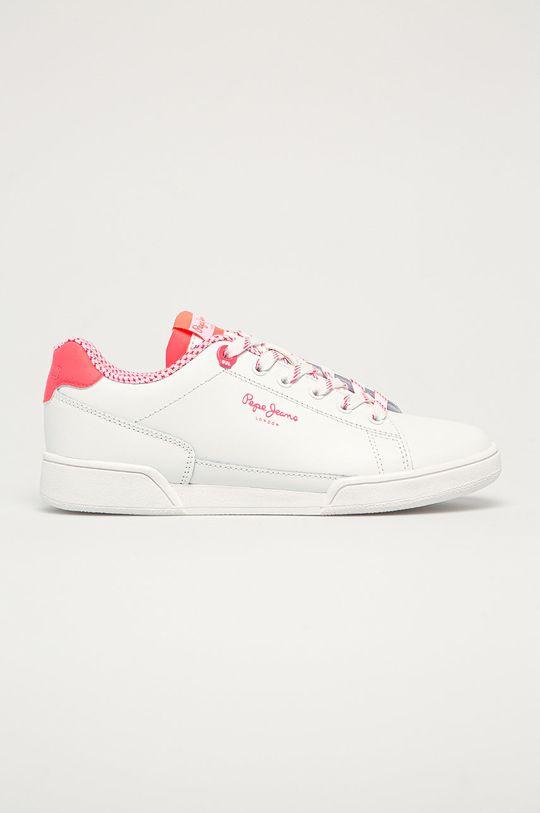 różowy Pepe Jeans - Buty skórzane Lambert Damski