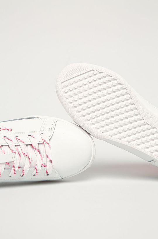 różowy Pepe Jeans - Buty skórzane Lambert