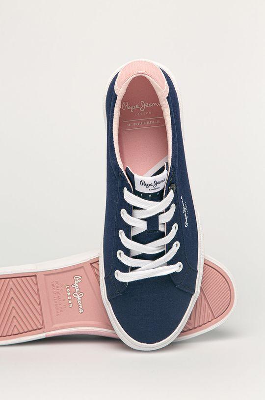námořnická modř Pepe Jeans - Tenisky Kenton Basss