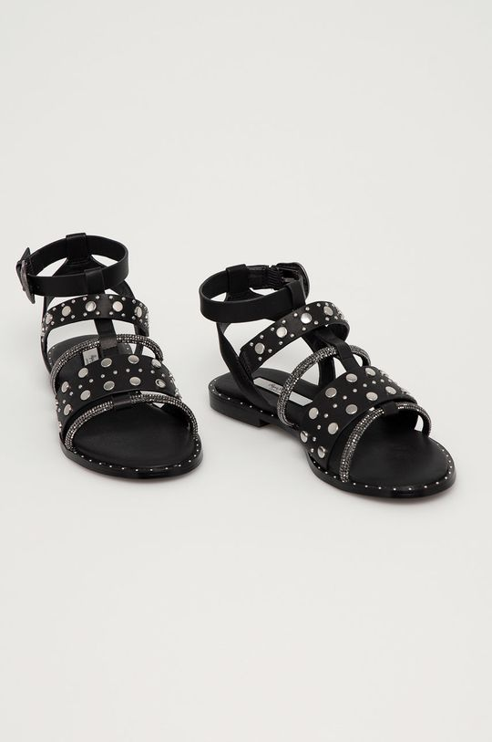 Pepe Jeans - Sandały Hayes Rock czarny