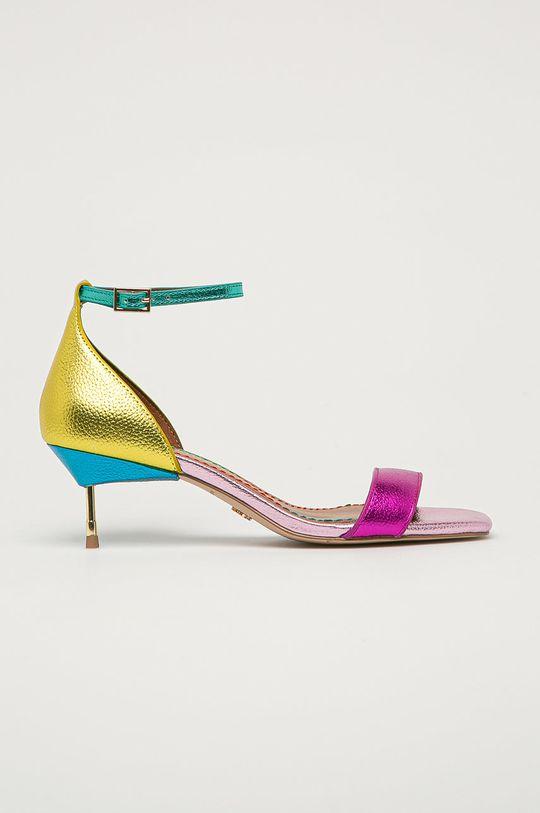 vícebarevná Kurt Geiger London - Kožené sandály Birchin Dámský
