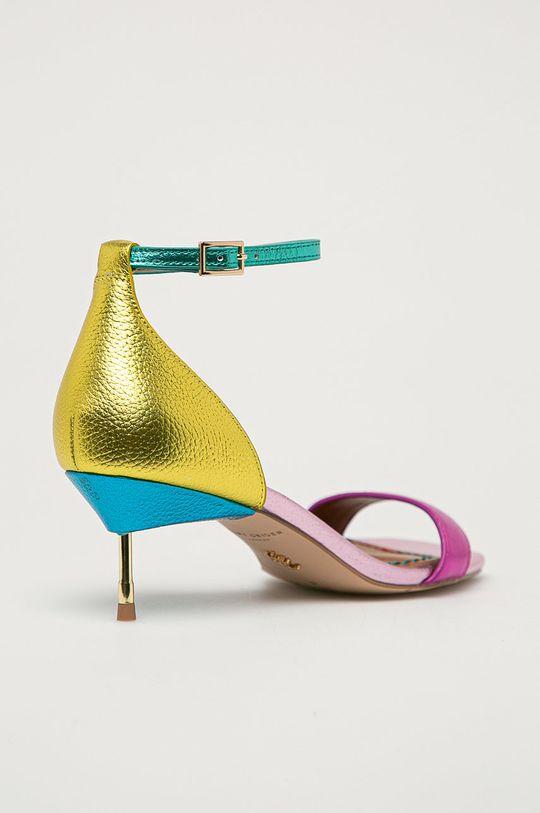 Kurt Geiger London - Kožené sandály Birchin  Svršek: Přírodní kůže Vnitřek: Umělá hmota Podrážka: Umělá hmota