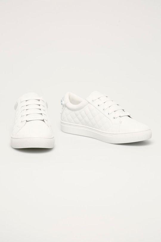 Kurt Geiger London - Kožená obuv biela