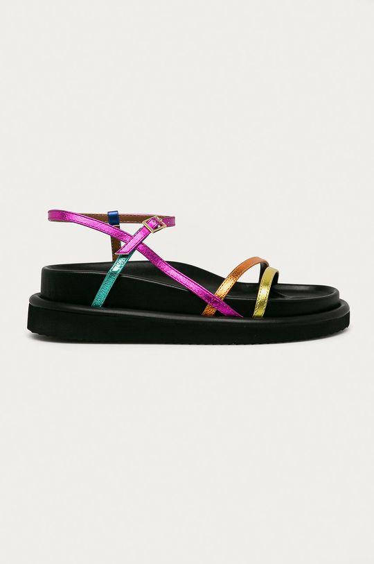 vícebarevná Kurt Geiger London - Kožené sandály Orson Dámský